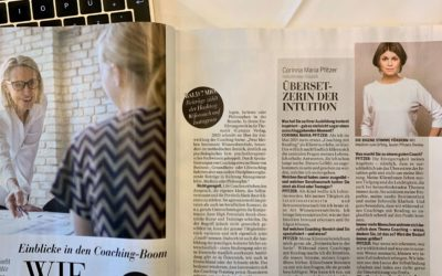 "Interview im Magazin Madonna zum Thema ""Neues Coaching"""