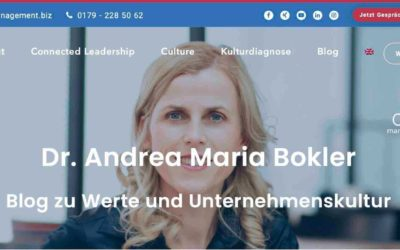 Blog Dr. Andrea Maria Bokler, September 2020